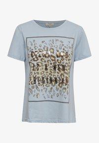 Cream - CRYARNA - T-shirt imprimé - cashmere blue - 4