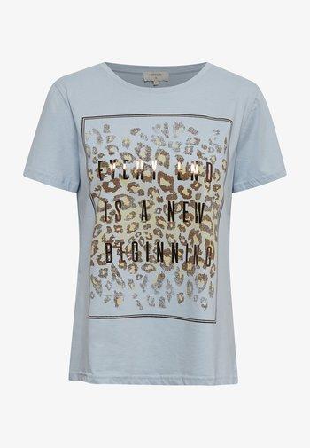 CRYARNA - Print T-shirt - cashmere blue