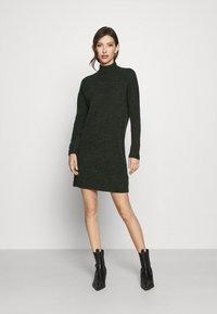 ONLY - ONLMEKIA DRESS  - Strikket kjole - rosin melange - 0