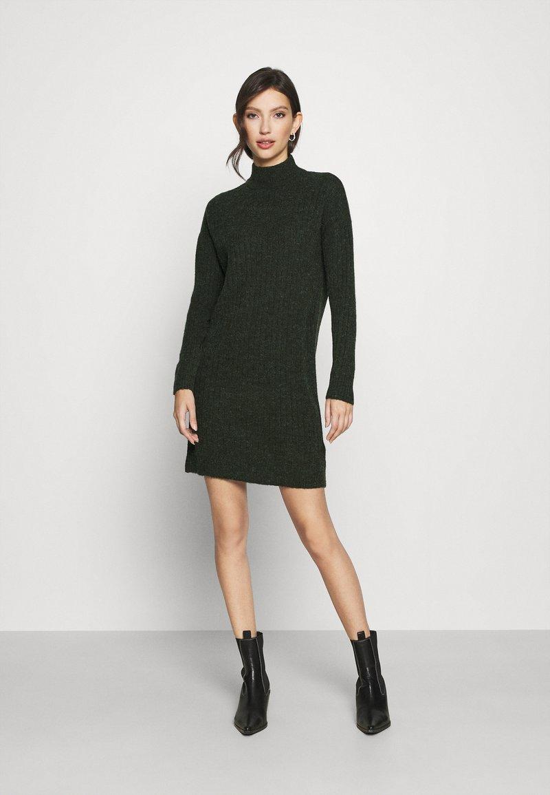 ONLY - ONLMEKIA DRESS  - Strikket kjole - rosin melange