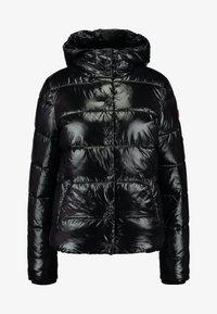 Superdry - HIGH SHINE TOYA PUFFER - Winter jacket - black - 4