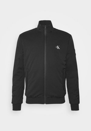 ZIP UP HARRINGTON - Bomber Jacket - black