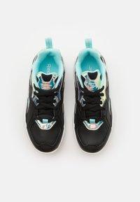 Reebok - XEONA UNISEX - Sports shoes - black/silver metallic - 3