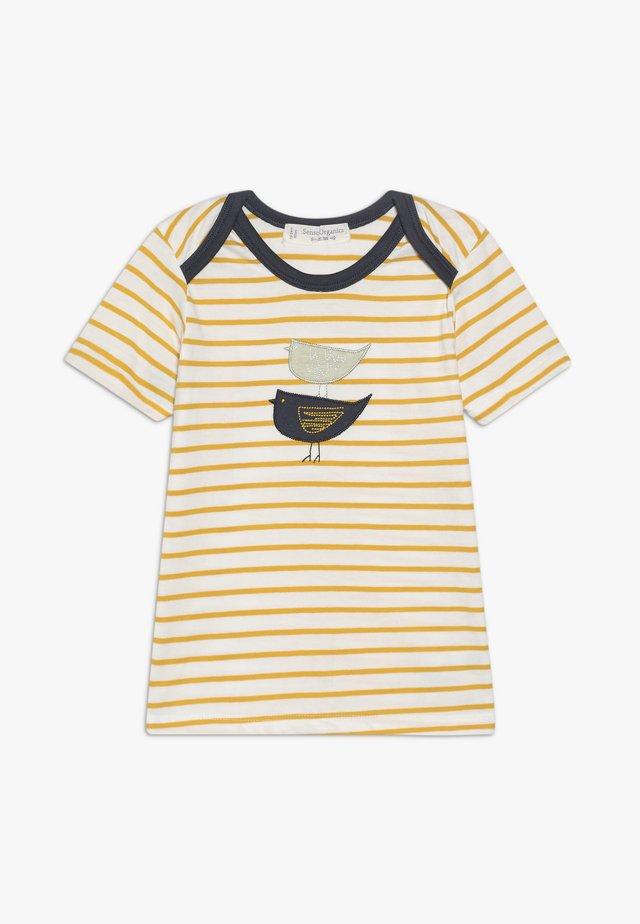 TOBI BABY - T-shirt z nadrukiem - yellow
