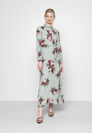 VMNEWALLIE DRESS  - Maxi-jurk - green milieu