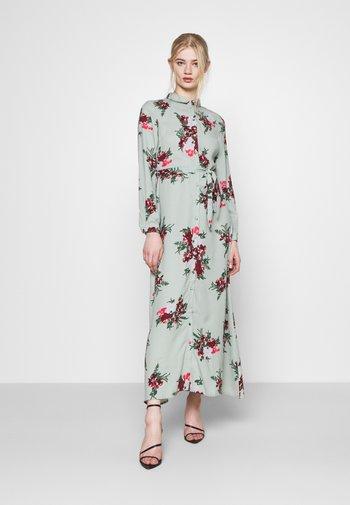 VMNEWALLIE DRESS  - Vestido largo - green milieu