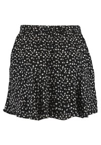MS Mode - WITH BOW BELT - Shorts - multi black-white - 5