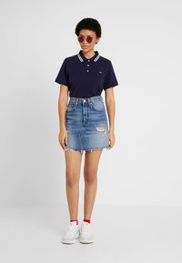 Levi's® - DECON ICONIC SKIRT - Falda acampanada - high plains - 1