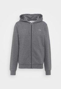 Zip-up sweatshirt - pitch chine/graphite sombre