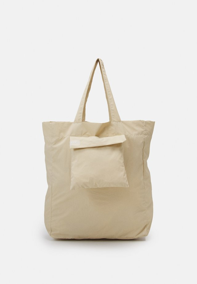 WATER TOTE BAG UNISEX - Shopping bag - sand