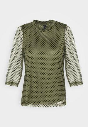 VMJUANA - Bluzka z długim rękawem - deep lichen green/black