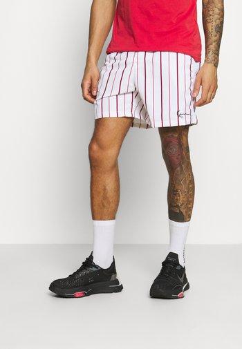 SMALL SIGNATURE - Shorts - white