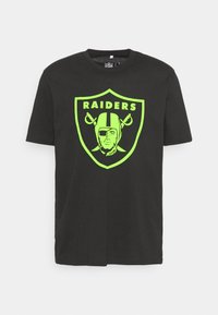 Fanatics - NFL LAS VEGAS RAIDERS NEON POP CORE GRAPHIC  - Club wear - black - 3