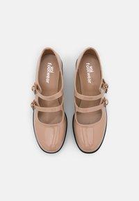 Koi Footwear - VEGAN MURA DOUBLE STRAP SHOES - Escarpins à plateforme - pink - 4