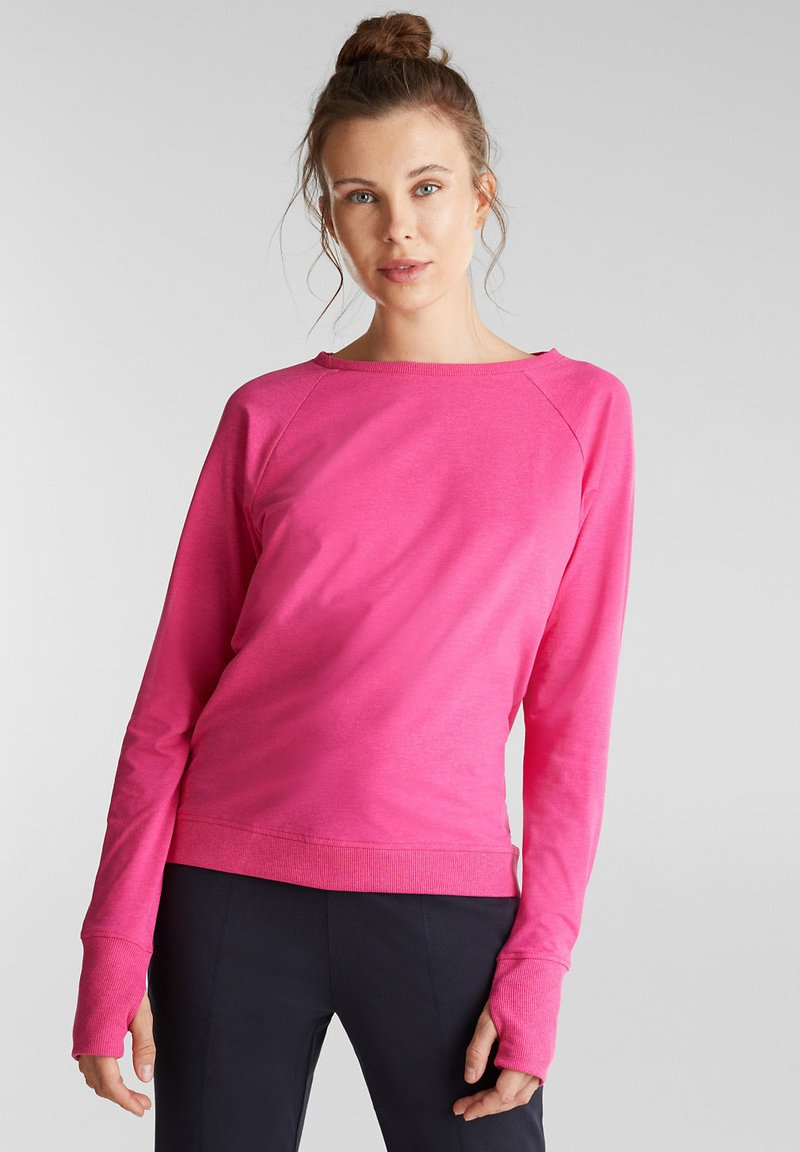 Esprit Sports - ACTIVE - Long sleeved top - pink fuchsia