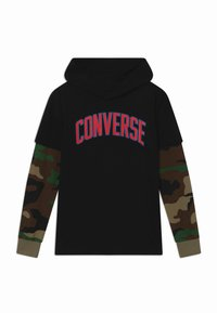 Converse - COLLEGIATE - Long sleeved top - black - 0