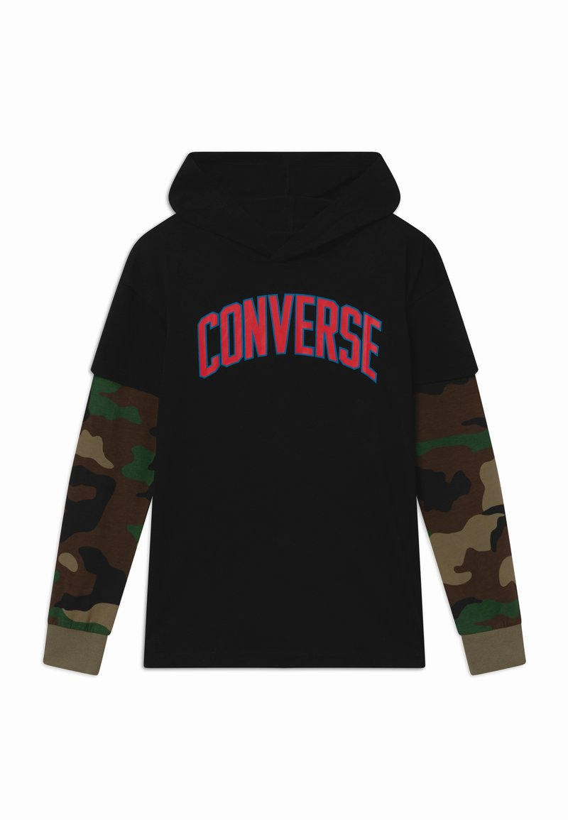 Converse - COLLEGIATE - Long sleeved top - black