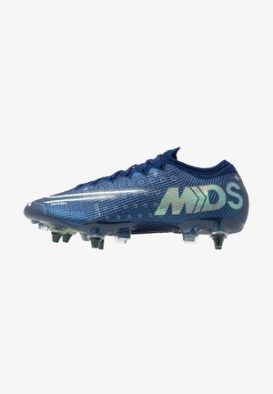 MERCURIAL VAPOR 13 ELITE SG-PRO AC - Screw-in stud football boots - blue void/metallic silver/white/black