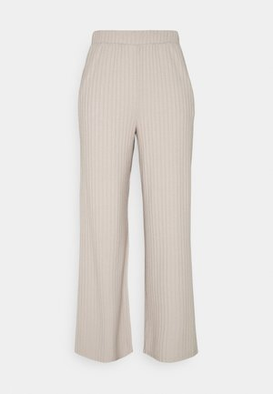 JDYALETTE WIDE LOUNGE PANT - Trousers - chateau gray