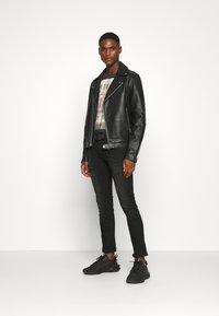 INDICODE JEANS - PALMDALE - Slim fit jeans - ultra black - 1