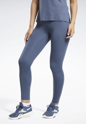 REEBOK LUX PERFORM TIGHT - Tights - blue