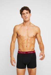 Calvin Klein Underwear - TRUNK 3 PACK - Culotte - black - 1