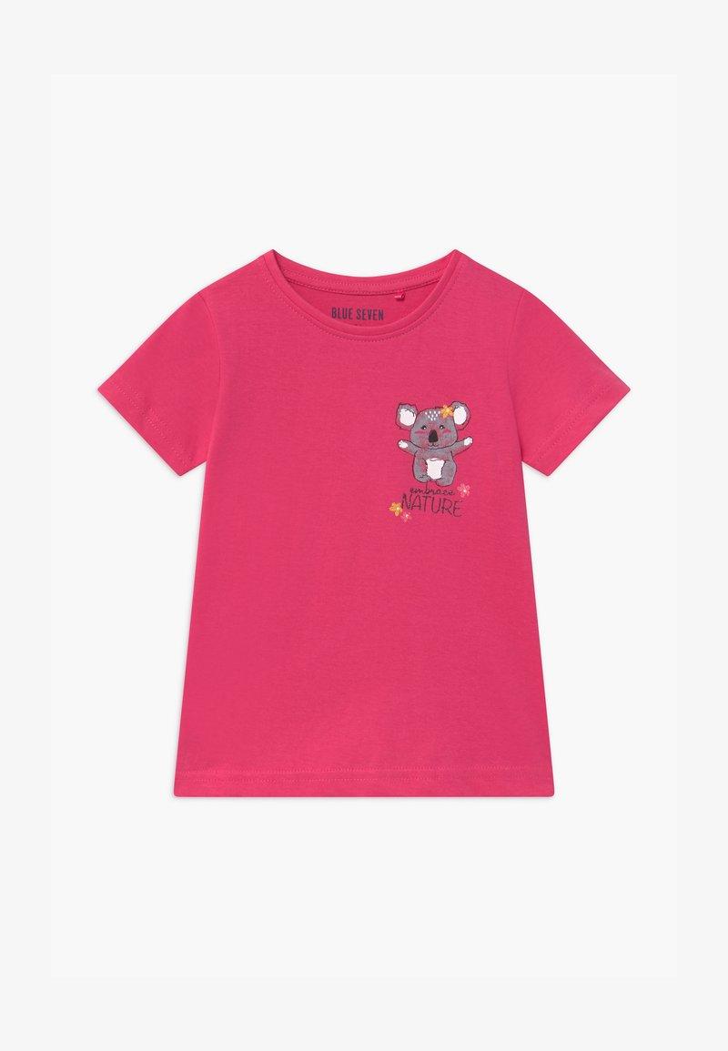 Blue Seven - SMALL GIRLS KOALA - Print T-shirt - pink