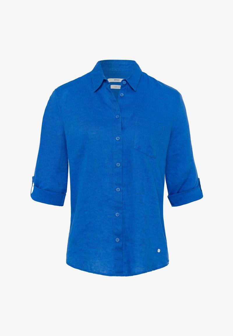 BRAX - STYLE VIOLA - Button-down blouse - ocean