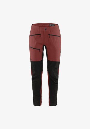 RUGGED FLEX PANT - Outdoor trousers - maroon red/true black