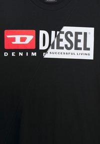 Diesel - DIEGOCUTY MAGLIETTA UNISEX - T-shirt print - nero - 2
