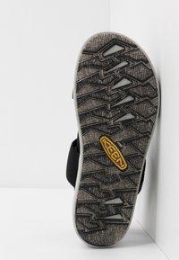 Keen - ELLE BACKSTRAP - Sandały trekkingowe - black - 6