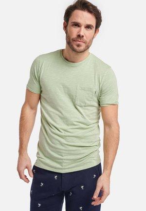 MEN TEE SLUB - Basic T-shirt - miami pistache