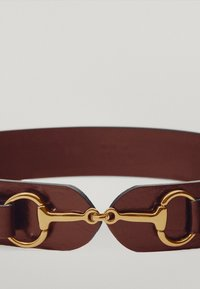 Massimo Dutti - MIT DOPPELTER TRENSE - Waist belt - brown - 3