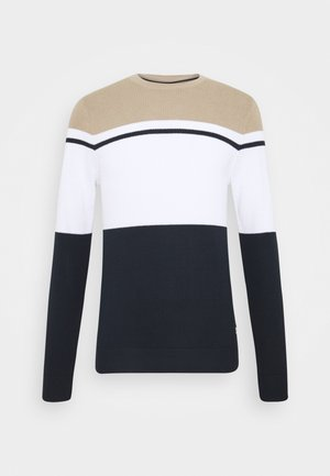 JCOROCK CREW NECK - Jumper - crockery
