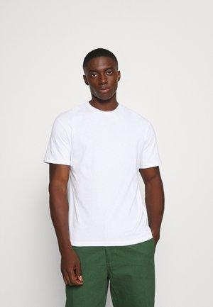 JORROMAN TEE CREW NECK - Printtipaita - white