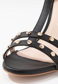 Trussardi - Korolliset sandaalit - black - 2