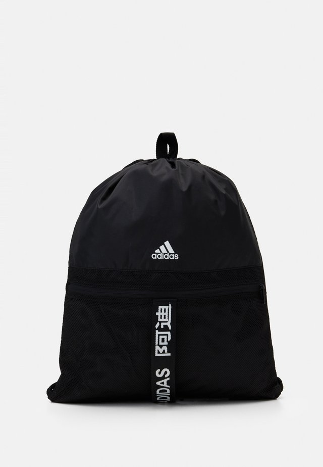 3 STRIPES TRAINING SPORTS GYM SACK UNISEX - Treningsbag - black/black/white