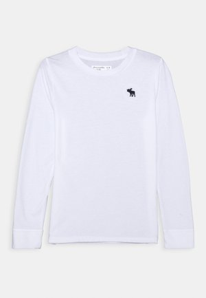 BASIC - Langærmede T-shirts - white