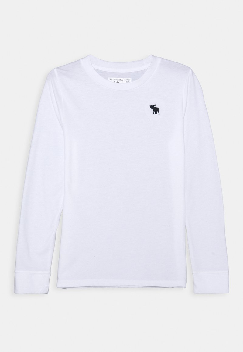 Abercrombie & Fitch - BASIC - Long sleeved top - white