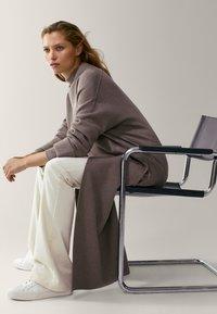 Massimo Dutti - Classic coat - grey - 4