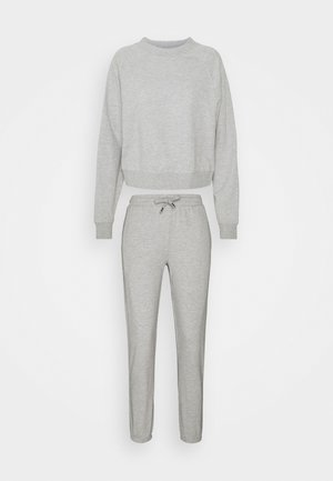 ONLZOEY LIFE SET - Sweatshirt - light grey melange