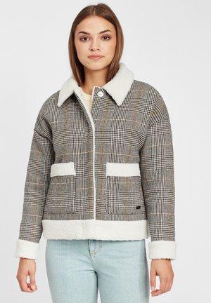 Hardshell jacket - mid grey melee