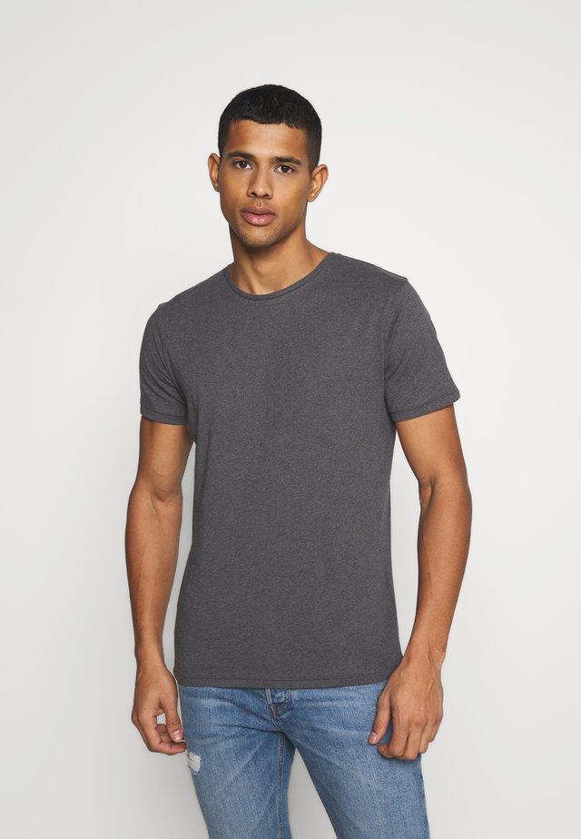 ALDER TEE - Basic T-shirt - dark grey
