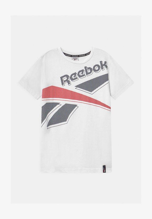 LARGE VECTOR  - Camiseta estampada - white