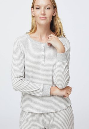 STRIPED - Pyjama top - grey