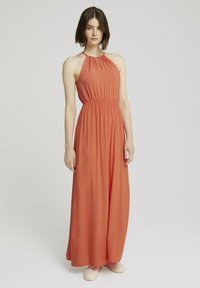 TOM TAILOR DENIM - Maxi dress - sundown coral - 0