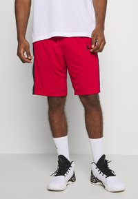 Jordan - JUMPMAN SHORT - Short de sport - gym red/gym red/black/black - 2