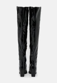 RAID - PHYLLIS - Kozačky nad kolena - black - 3