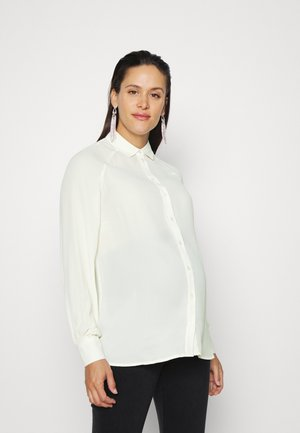VMMMAPLE LONG  - Overhemdblouse - snow white