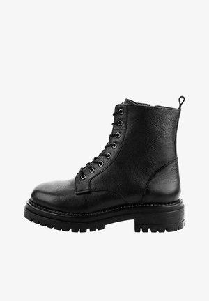 NETTUNO - Cowboy/biker ankle boot - black